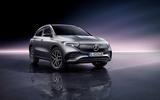 82 Mercedes Benz EQA official images studio front