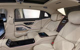 2021 Mercedes-Maybach S-Class official images - rear centre console