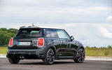 82 Mini JCW anniversary official images static rear