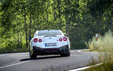 Nissan GT-R Nismo 2020 official reveal - cornering rear