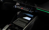 Peugeot e-2008 reveal studio - wireless phone charging