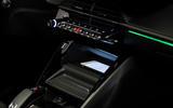 Peugeot e-2008 reveal studio - wireless phone charging
