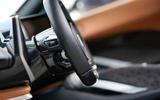 Pininfarina Battista customer preview event - dashboard details