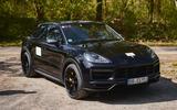 82 Porsche Cayene Turbo Coupe prototype 2022 static