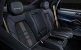 82 Porsche Cayenne GT 2021 official reveal rear seats