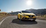 Renault megane 2020 refresh - RS tracking front