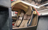 Waking the Toyota GT-One - seats