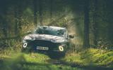 Aston Martin DBX 2020 prototype drive - woods