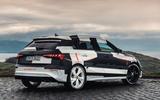Audi S3 2020 prototype drive - static rear