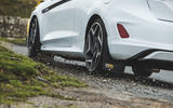 Britain's best affordable drivers car 2020 - Fiesta Mountune - pebbles