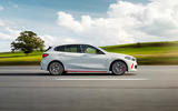 BMW 1 Series 128ti official reveal - track side