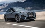 83 BMW iX prototype ride 2021 road front
