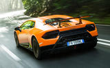 83 fastest cars tested by Autocar Lambo huracan performante