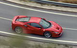 Ferrari F8 Tributo 2019 first ride review - on the road side