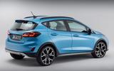 83 Ford Fiesta 2021 refresh Active studio rear