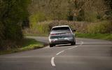 83 Hyundai Ioniq 5 proto drive 2021 on road rear