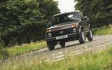 83 Lada Niva EOL feature cornering front