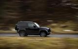 83 Land Rover Defender V8 2021 official images 90 panning