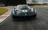 83 Lotus Evija 2021 track drive tracking nose