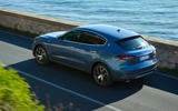 83 Maserati Levante Hybrid 2021 official images on road rear