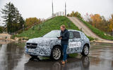 Mercedes-Benz GLA prototype ride 2019 - notes