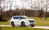83 Mitsubishi Outlander 2021 official images tracking front