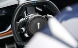 Pininfarina Battista customer preview event - steering wheel