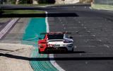 Porsche 911 RSR-19 drive - on track rear