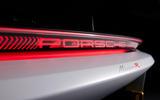 83 Porsche Mission R concept feature rear lights