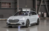 Skoda Vision RS concept drive - drive front