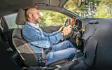 Vauxhall Corsa 2019 prototype drive - Matt Prior driving 2