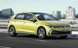 2020 Volkswagen Golf Mk8 official press - R-line front