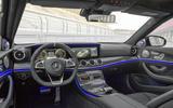 Mercedes-AMG E 63 interior