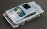 Aston Martin DB5 Goldfinger Continuation static roof