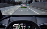 84 Audi Q4 Etron 2021 prototype drive HUD