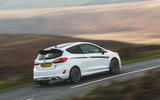 Britain's best affordable drivers car 2020 - Fiesta Mountune - panning