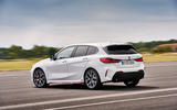 BMW 1 Series 128ti official reveal - cornering rear