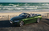 2021 BMW 4 Series Convertible official images - static front