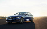BMW 530e 2020 facelift official images - static