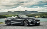 BMW 8 Series cabriolet 2018 official reveal - static roof down
