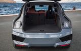 84 BMW iX prototype ride 2021 boot