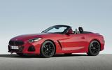 2019 BMW Z4 official reveal Pebble Beach - front