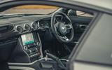 84 Camaro ZL1 vs Sutton Mustang 2021 Mustang interior