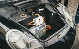 84 EV track day llandow 2021 feature conversion battery