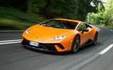 84 fastest cars tested by Autocar Lambo Huracan performante