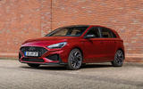 2020 Hyundai i30 N-Line prototype drive review - static front