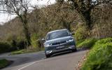 84 Hyundai Ioniq 5 proto drive 2021 on road front