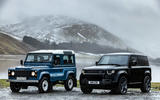 84 Land Rover Defender V8 2021 official images new with old static