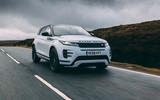 Land Rover Range Rover Evoque 2019 first ride review - on the road hero