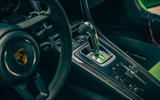 Visiting Manthey racing - GT3 RS MR centre console